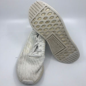 Adidas Boost White Sneakers Size 7